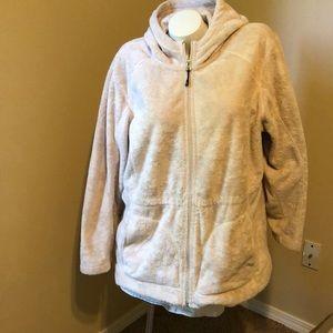 Lands' End Jackets & Coats - Lands End Hooded Zippered Fleece